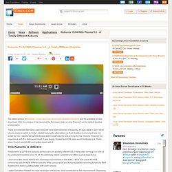 Kubuntu 15.04 With Plasma 5.3 - A Totally Different Kubuntu