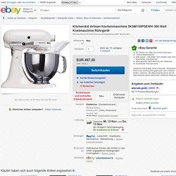 KitchenAid Artisan Küchenmaschine 5KSM150PSEWH 300 Watt Knetmaschine Rührgerät