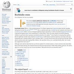 Kuchisake-onna - Wikipedia