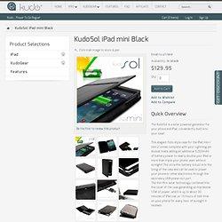 KudoSol - iPad mini Black Pre-Order Certificate