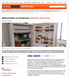 Kühlschränke von Studenten: Zeig mir, was du isst - SPIEGEL ONLINE - Nachrich...