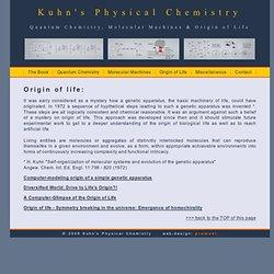 Kuhn's Physical Chemistry