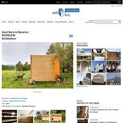 Goat Barn in Bavaria / KÜHNLEIN Architektur