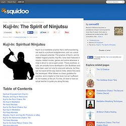 Kuji-In: The Spirit of Ninjutsu