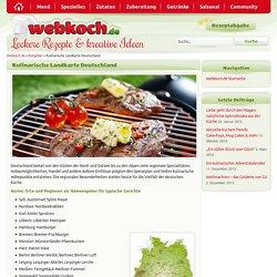 Kulinarische Landkarte Deutschland