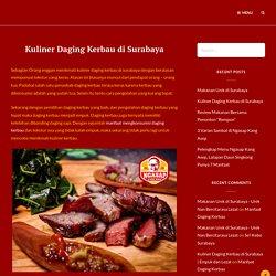 Kuliner Daging Kerbau di Surabaya