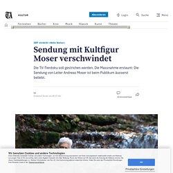 SRF streicht «Netz Natur» – Sendung mit Kultfigur Moser verschwindet
