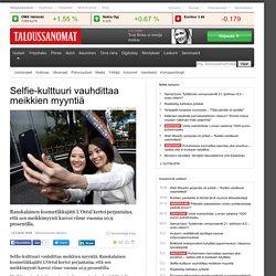 Selfie-kulttuuri vauhdittaa meikkien myyntiä