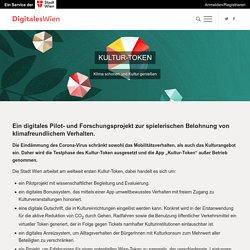 "Sustainable urban mobility with ""Kultur-Token"" - Digitales Wien"