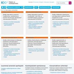 Kuluttajataitojen opetus vuosiluokittain - Kilpailu- ja kuluttajavirasto