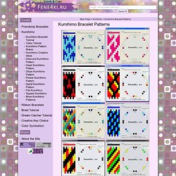 Kumihimo Bracelet Patterns. Friendship Bracelets. Bracelet Patterns. How to make bracelets