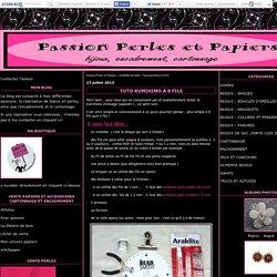 Tuto kumihimo à 8 fils - Passion Perles et Papiers