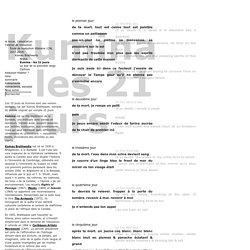 Kumina - les 21 jours - retors.net