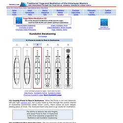 Kundalini Awakening - Prana flows in Sushumna
