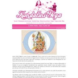 Le 6ème chakra : Ajna, le 3ème œil