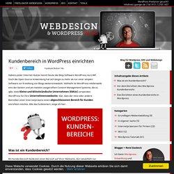 Kundenbereich in Wordpress einrichten