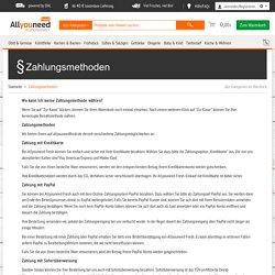 Kundenservice - Allyouneedfresh.de