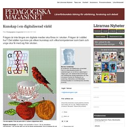 Kunskap i en digitaliserad värld