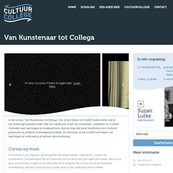 Van Kunstenaar tot Collega › CultuurCollege