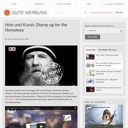 Hinz und Kunzt: Stamp up for the Homeless