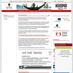 Terve Kuopio -kioski - Kuopion kaupunki