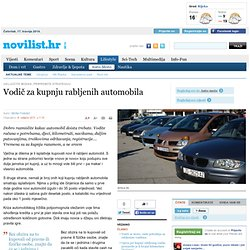Vodič za kupnju rabljenih automobila