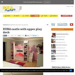 KURA castle with upper play deck