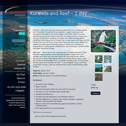 Kuranda and Reef - Nautilus Aviation