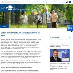 KWA - Kuratorium Wohnen im Alter: Start