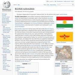 Kurdish nationalism