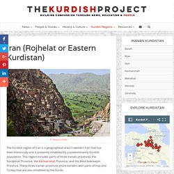 Kurdish Region of Iran - Map, History and News