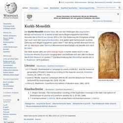 Kurkh-Monolith