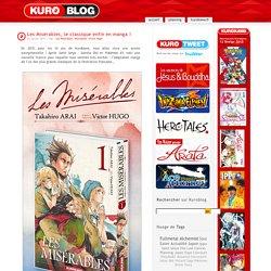 Les Misérables, le classique enfin en manga !