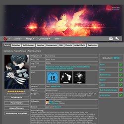 Anime: Kuroshitsuji (Animeserie) - Liste - Proxer.Me