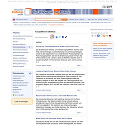 Kursplattformen (MOOCS)