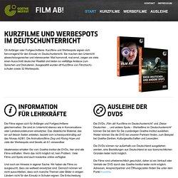 Film ab! – Kurzfilme im Unterricht - -Goethe-Institut
