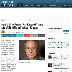 Ray Kurzweil On The Future