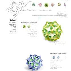 me! - modular origami
