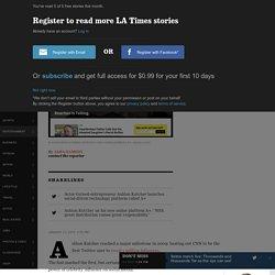 Ashton Kutcher launches new online platform called A+