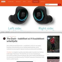 The Dash - Scifi-kuulokkeet urheilijalle