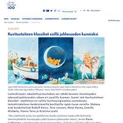 Kuvitustaiteen klassikot esillä juhlavuoden kunniaksi - Suomi Finland 100