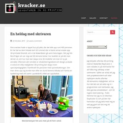 kvacker – Page 2 – 3D-printing för nybörjare
