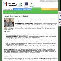Národná sústava kvalifikácií