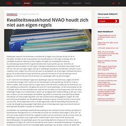 LSVb: Kwaliteitswaakhond NVAO houdt zich niet aan eigen regels - LSVb - Voor heel studerend Nederland