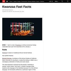 Kwanzaa Fast Facts