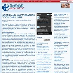 Nederland kwetsbaarder voor corruptie – Transparency International Nederland