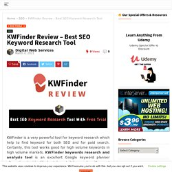 KWFinder Review 2021- Best SEO keyword Research & Analysis tool