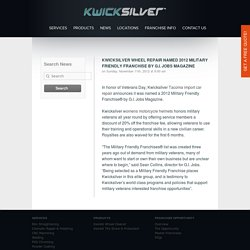 Kwicksilver Wheel Repair