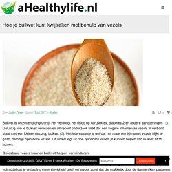 Hoe je buikvet kunt kwijtraken met behulp van vezels - Voeding en gezondheid - aHealthylife.nl