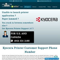 Kyocera Printer Customer Service